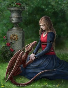 Hymne a l'amour dans amour secret_garden_by_anne_stokes-231x300