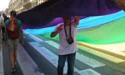 La gay pride, toulouse le 20 juin 2015