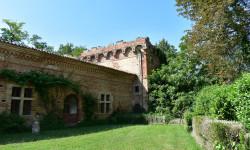 Le château de Caumont Gers.